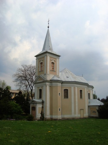 Kostel Panny Marie Pomocnice v Olomouci