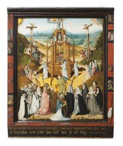 Mistr Studny života, Epitaf Jana Cleemenssoena se Studnou života, 1511, tempera na dřevě, Národní galerie