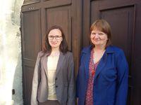 Marcela Fojtíková Roubalová a Marie Zimmermannová