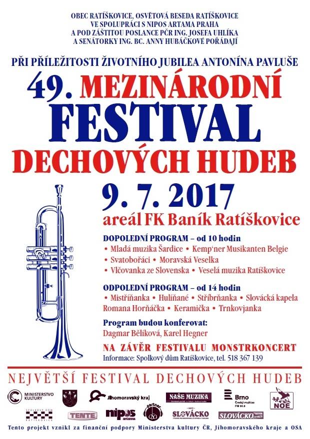 Ratíškovice 2017_plakát