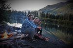 S manželem v Kanadě.