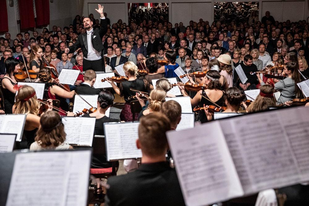 Novoměstská filharmonie a Rybáček