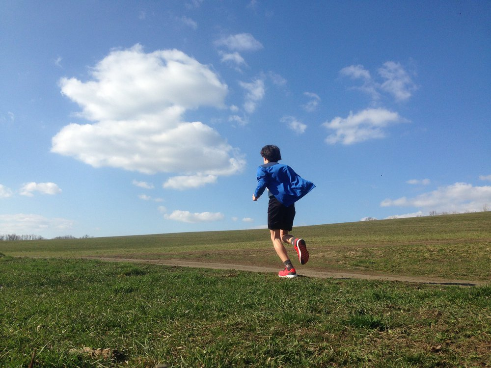 Prokop Škrabálek rád běhá.