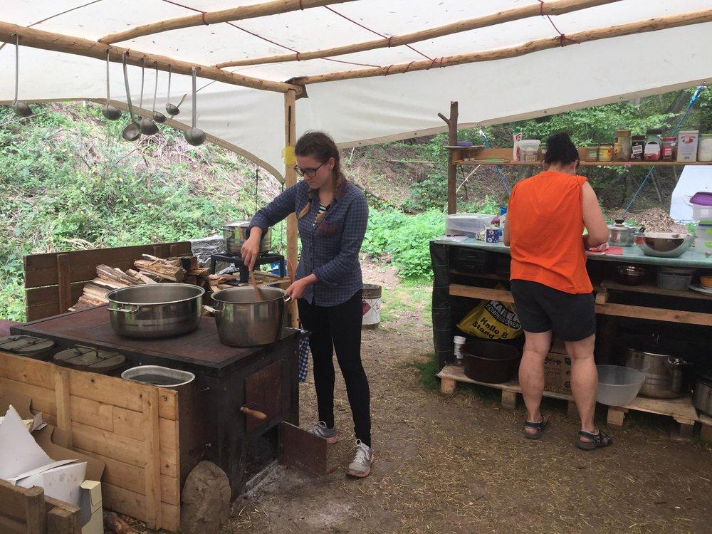 Táborová kuchyň