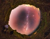 První foto dne NASA Petra Horálka - Sauronovo oko na Novém Zélandu