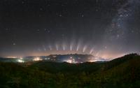 Sledování komety nad Vysokými Tatrami